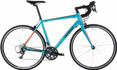 Genesis Delta 10 MGT Road Bike Blue 2018